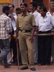 Policía dispuesto a poner orden