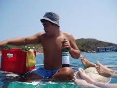 Nha Trang. El bar flotante