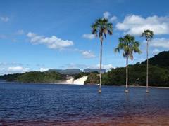 La famosa laguna de Canaima
