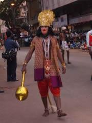 Hanuman, el dios mono