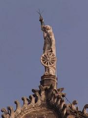 Estatua estación Victoria