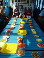 Nha Trang. Frutas tropicales