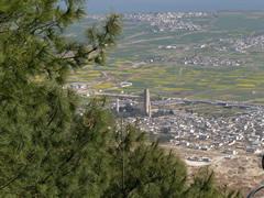 Las 3 pagodas desde la montaña