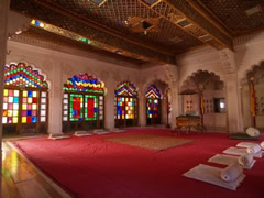 Precioso salón en Mehrangarh