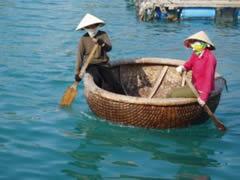 Nha Trang. Barcas cesta