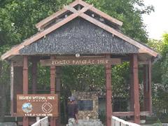 La entrada al Parque Nacional Komodo