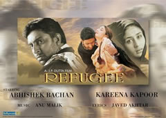 Cartel película de Bollywood (el de la izquierda es el prometido de Aishwarya