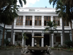 Patio interior del concejo de Caracas