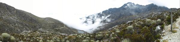 Panorámica pico Bolívar