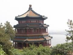 Palacio de Verano. Pagoda en la Colina de la Longevidad