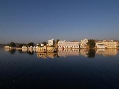 El lago Pichola en Udaipur