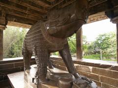 Estatua de jabalí