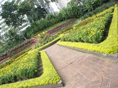 Jardines centro de arte la Estancia