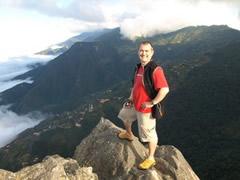 En la cima del Picacho
