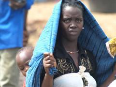 Protegiéndose del sol africano