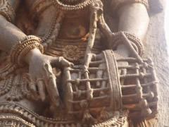 Templo Halebidu. Detalle talla