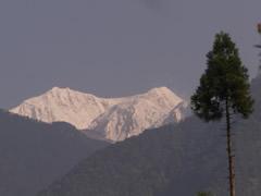 El Kanchenjunga desde Yuksom