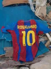 Camiseta Ronaldinho