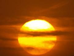 Puesta de sol en Dakhla