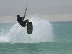 Surfeando con el viento