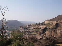 El palacio real desde el fuerte