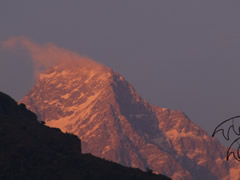 Amanecer en Dharamsala