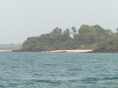 Una de las 88 islas de las Bijagos