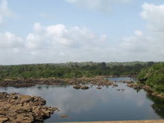 río en Sierra Leona.