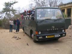 Los camiones descapotados o canter