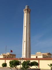 Faro de la ciudad de Boujdour