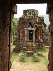 My Son. Templo hinduista