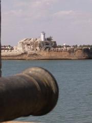 Cañón en el fuerte