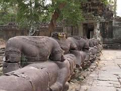Acceso a Preah Khan