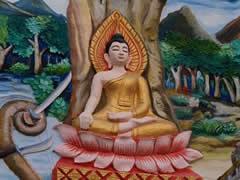 Buda y el árbol de la vida