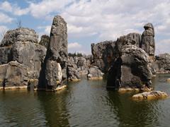 El agua, necesaria para la formación del Bosque de Piedra