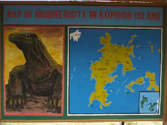 Mapa de Komodo