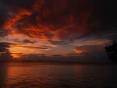 Puesta de sol en Mataking