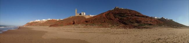 Panorámica de Sidi Ifni