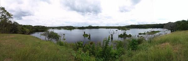 Laguna en Cachamai