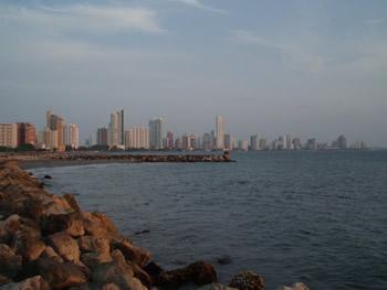 La ciudad nueva en Cartagena