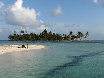 Cayo en San Andrés.