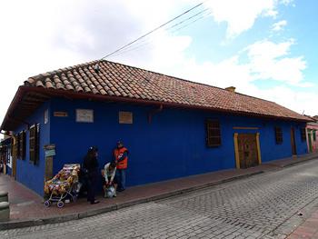 Casa colonial en la Candelaria