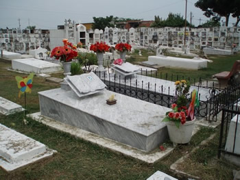 El cementerio de Mompox