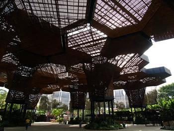 El Orquideorama del jardín botánico de Medellín