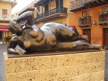 Un Botero en Cartagena