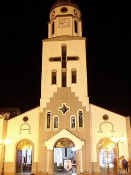 Nuestra Señora del Carmen de noche