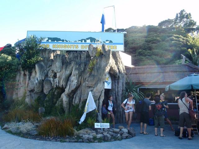 El centro de buceo de Dive! Tutukaka