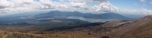 Parque Nacional Tongariro, Patrimonio de la Humanidad de la UNESCO, Lago