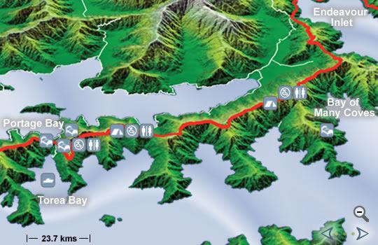 Mapa tercer día