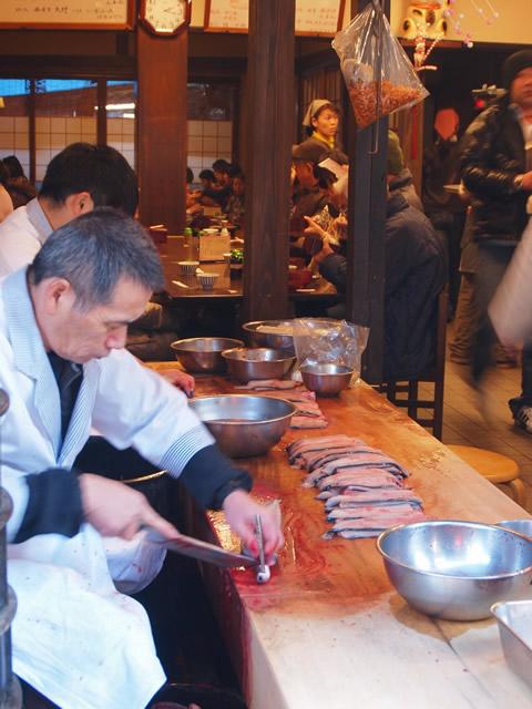 Preparando sushi